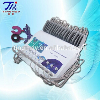 Microcurrent Body Shaper Machine With Vibrating Massage Heat Pad