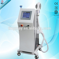 2 in 1 OPT hair removal Fractional RF Multifunction beauty Machine / OPT shr fast hair removal