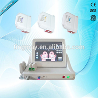 3 cartridges face lift HIFU machine / high intensity focused ultrasound HIFU / 2017 hifu machine