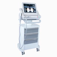 face lift hifu machine with 7 cartridges for face and body slimming