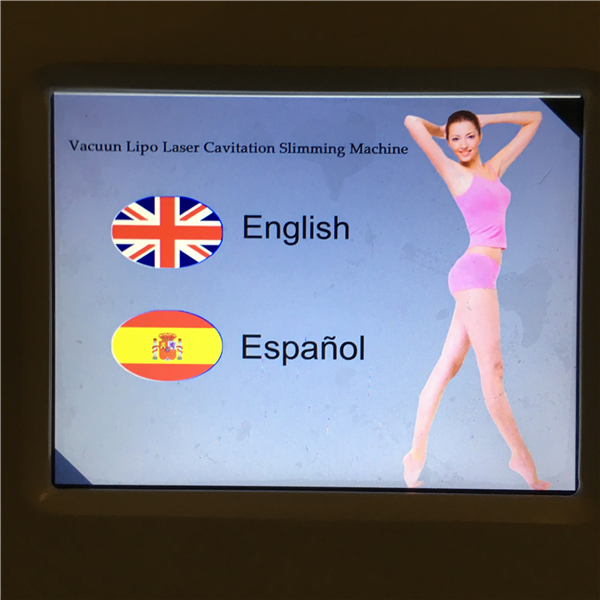 Tingmay LipoLaser Vacuum Cavitation system Vacuum Sextupole Bipolar RF Cellulite Removal Fat Loss Body Shaping Machine