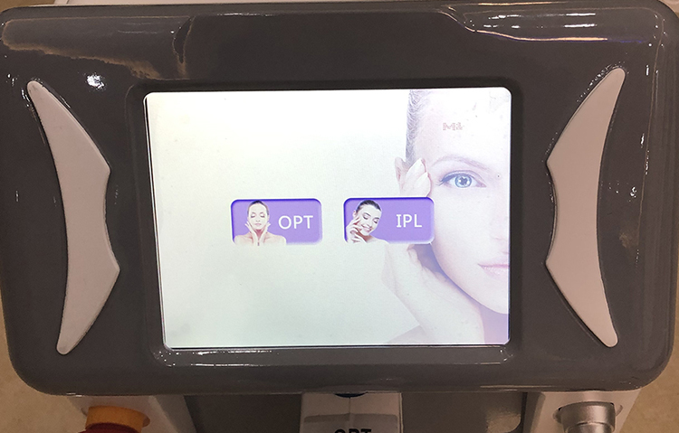 Portable strong power SHR OPT IPL hair removal machine factory price