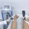 two electromagnetic handle work at the same time cellulite reduction show wave therapy machine