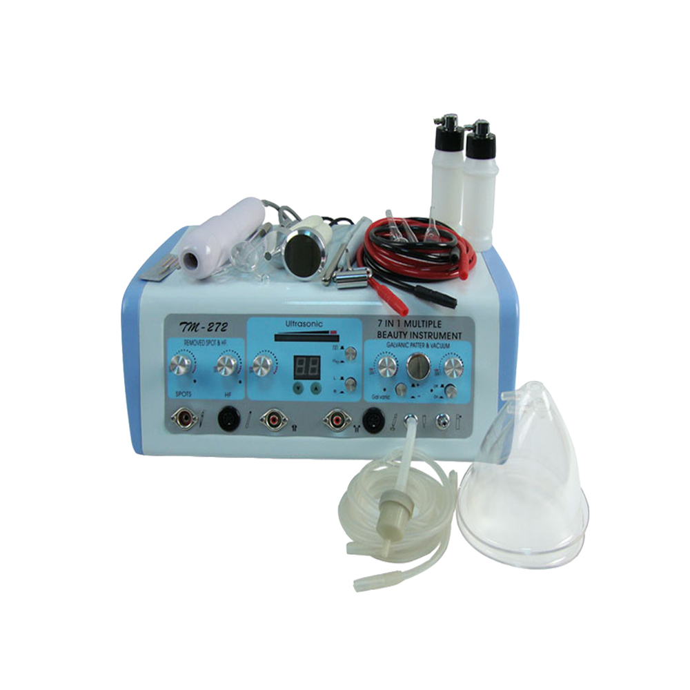 Portable multifunctional high frequency galvanic facial beauty machine