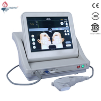 Top sell portable hifu face lift machine with 5 hifu cartridge