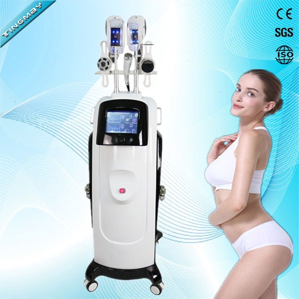 2018 Hot Vertical cryolipolysis rf cavitation lipo laser weight loss slimming fat freeze machine
