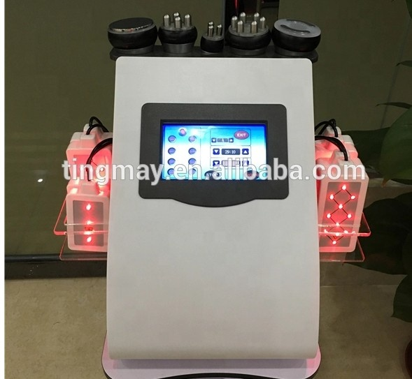 2019 Cavitation vacuum RF lipolaser body facial RF skin tighten weight loss machine