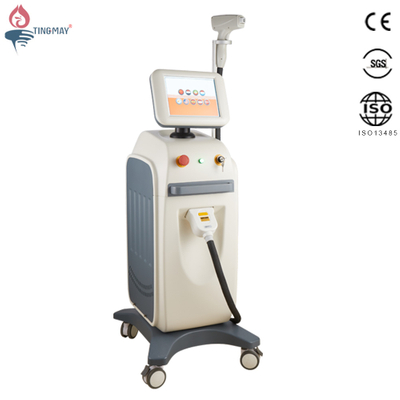 Hot selling Pain Free 808nm diode laser hair removal machine factory price on sale