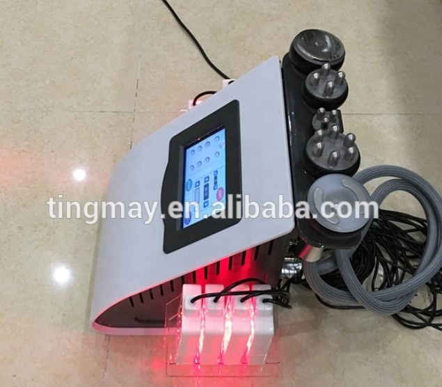 Vacuum cavitation system rf slimming machine with lipolaser for weight loss