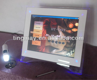 HT-907 face skin test machine digital skin analyzer