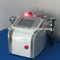 7 in 1 vacuum rf ultrasonic cavitation rf cool face lift led multifunction machine