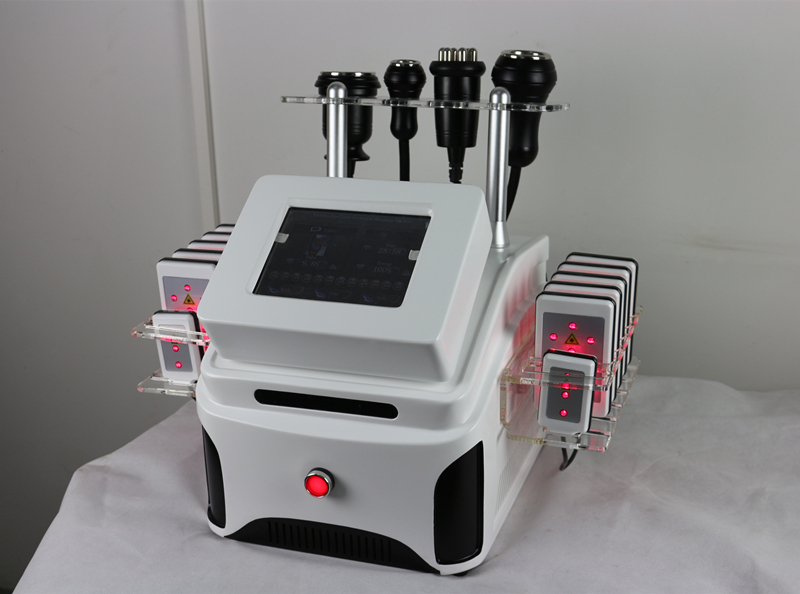 Hot selling cavitation+Lipolaser+RF+Vacuum weight loss slimming machine TM-913
