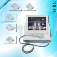 Latest hifu facial machine / 5 Cartridge ultrasound beauty hifu for wrinkle removal