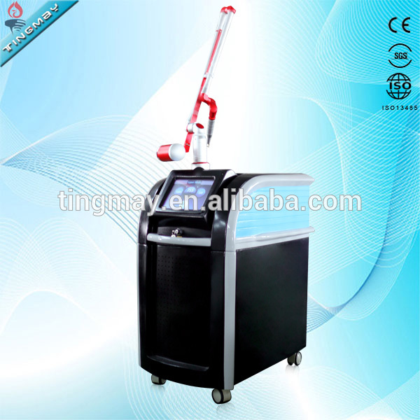 2017 Newest!1064nm 532nm 755nm tattoo removal nd yag laser for tattoo removal and skin rejuvenation picosecond
