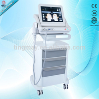 Beauty hifu high intensity focused ultrasound hifu anti-aging machine for face and body