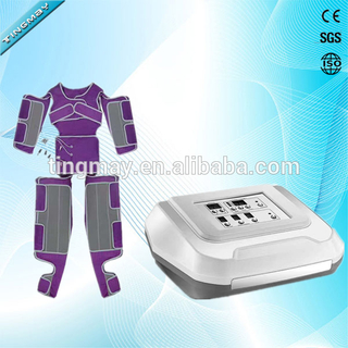 Pressotherapy with far infrared slimming pressotherapy machine pressotherapy detoxing machine