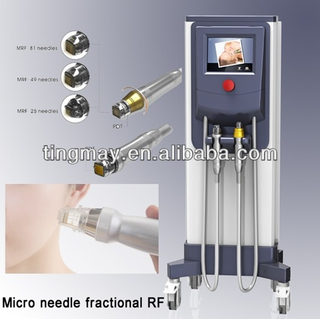 Fractional rf microneedle machine for sale