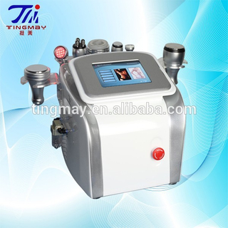 1 mhz Ultrasonic+40k cavitation+cryolift+bipolar rf+vacuum rf+photon rejuvenation 7 in 1 beauty machine