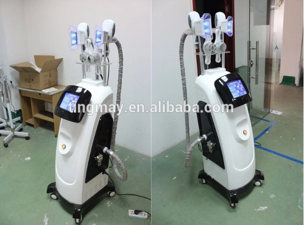 Cryolipolysis cavitation rf lipolaser vacuum liposuction machine