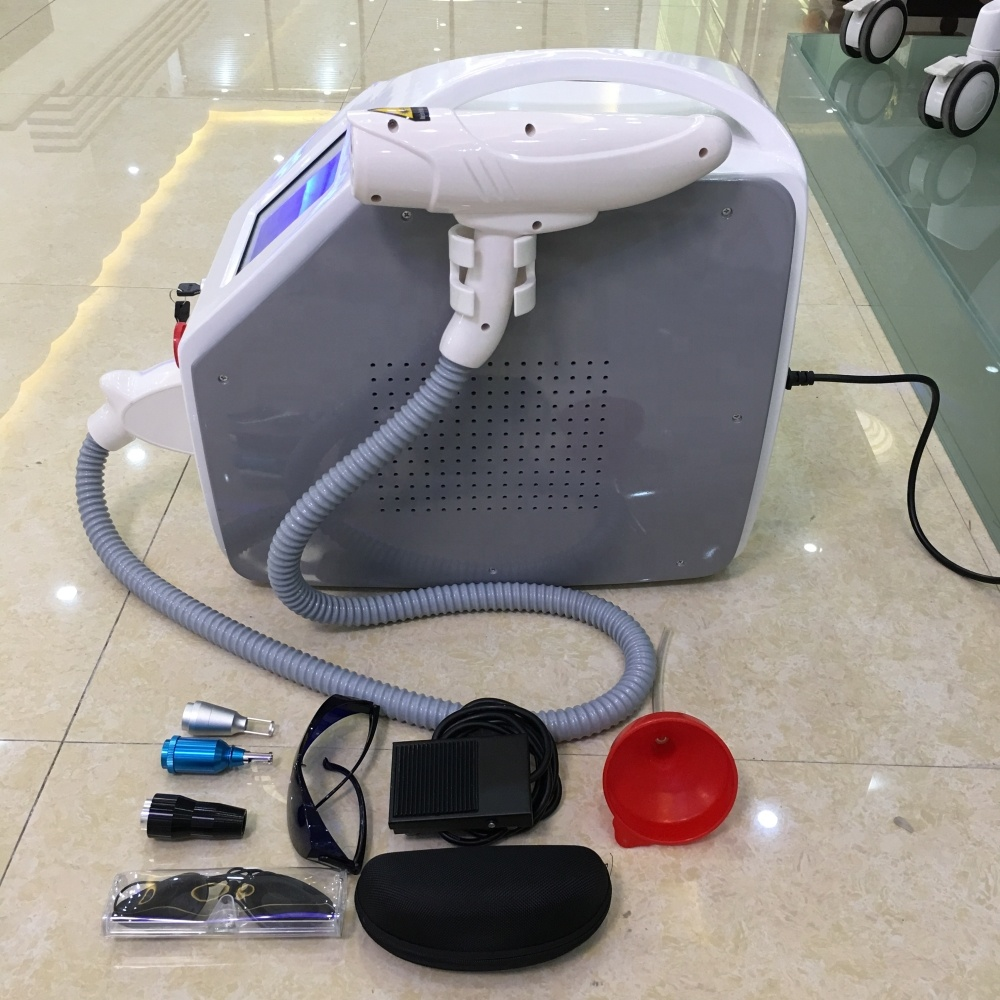 2019 new item big screen q switch nd yag laser tattoo removal machine
